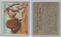 R172 Gum Inc, Wild West Series, Series A, 1937 #12 Buffalo Bill Killing Buffalo