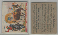 R172 Gum Inc, Wild West Series, Series A, 1937 #23 The Bullwhacker