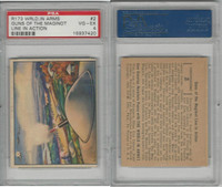 R173 Gum Inc, The World In Arms, 1939, #2 Guns Of The Maginot Line, PSA 4 VGEX