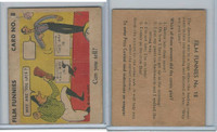 R48-1 Gum Inc, Film Funnies, Unnamed Series, 1935, #18 Slim Summerville.