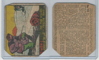R60 Gum Inc, G-Men and Heroes, 1936, #112 The Mad Killer's Frozen Trail
