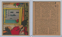 R60 Gum Inc, G-Men and Heroes, 1936, #129 Eyes Betrayed Human Spider