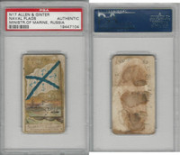 N17 Allen & Ginter, Naval Flags, 1887, Russia, Minister Of Marine, PSA A