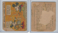 R89 Gum Inc, Mickey Mouse, Type 1, 1935, #7 Bad Stew Mickey!