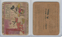 R89 Gum Inc, Mickey Mouse, Type 1, 1935, #8 Just Ironing Out Some