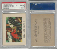1960 Buymore W527, Treasure Island, Pirate, #10 Listening Intently, PSA 8 NMMT