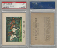 1960 Buymore W527, Treasure Island, Pirate, #13 The Customs, PSA 7.5 NM+