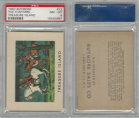 1960 Buymore W527, Treasure Island, Pirate, #13 The Customs, PSA 8 NMMT