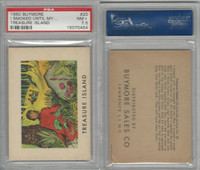 1960 Buymore W527, Treasure Island, Pirate, #20 I Smoked Until My, PSA 7.5 NM+