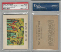 1960 Buymore W527, Treasure Island, Pirate, #23 I Told Our Story, PSA 8 NMMT