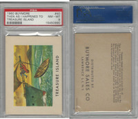 1960 Buymore W527, Treasure Island, Pirate, #40 Then As I Happened, PSA 8 NMMT