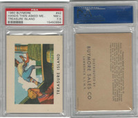 1960 Buymore W527, Treasure Island, Pirate, #42 Hands Then Asked Me, PSA 7.5 NM+