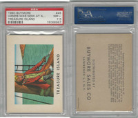 1960 Buymore W527, Treasure Island, Pirate, #45 Hands Was Now At A, PSA 7.5 NM+