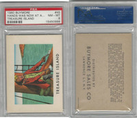 1960 Buymore W527, Treasure Island, Pirate, #45 Hands Was Now At A, PSA 8 NMMT