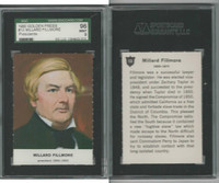 1960 Golden Press W547, Presidents, #13 Millard Fillmore, SGC 96 Mint