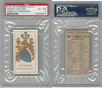 N181 Kimball, Arms of Dominions, 1888, France Orleans, PSA 6 EXMT