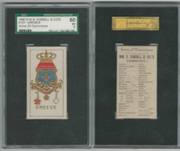 N181 Kimball, Arms of Dominions, 1888, Greece, SGC 60 EX