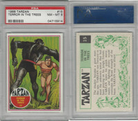 1966 Philadelphia Gum, Tarzan, #15 Terror in the Trees, PSA 8 NMMT