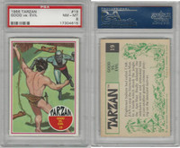 1966 Philadelphia Gum, Tarzan, #19 Good vs. Evil, PSA 8 NMMT