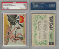 1966 Philadelphia Gum, Tarzan, #20 Desperate Gamble, PSA 7 NM