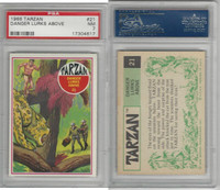 1966 Philadelphia Gum, Tarzan, #21 Danger Lurks Above, PSA 7 NM