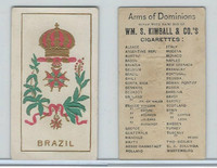 N181 Kimball, Arms of Dominions, 1888, Brazil