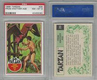 1966 Philadelphia Gum, Tarzan, #39 From Another Age, PSA 8 NMMT
