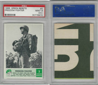 1966 Philadelphia, Green Berets, #2 Freedom Fighter, PSA 9 OC Mint