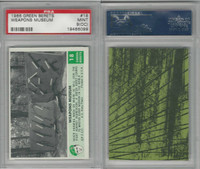 1966 Philadelphia, Green Berets, #18 Weapons Museum, PSA 9 OC Mint