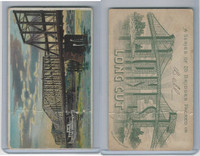 N102 Duke, Bridges, 1890, Long Draw Bridge On The Hudson, Albany, N.Y.