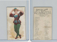 N182 Kimball Cigarettes, Ballet Queens, 1889, Estelle