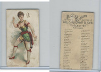 N182 Kimball Cigarettes, Ballet Queens, 1889, Annette
