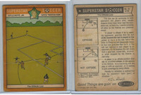1976 Colonial Bread, Super Star Soccer, #12 Offside Law