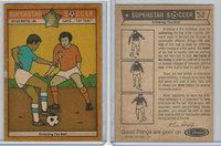 1976 Colonial Bread, Super Star Soccer, #32 Dribbling The Ball