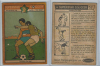 1976 Colonial Bread, Super Star Soccer, #35 Tackling The Ball