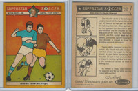 1976 Colonial Bread, Super Star Soccer, #36 Shoulder Tackle