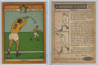 1976 Colonial Bread, Super Star Soccer, #38 Throw Ins