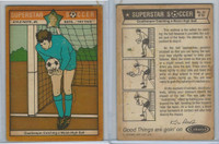 1976 Colonial Bread, Super Star Soccer, #41 Goalkeeper