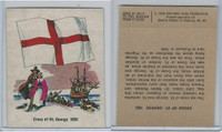 1976 Quality Bakers, Flags of America, History, Cross St. George 1620