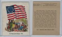 1976 Quality Bakers, Flags of America, History, 1st Stars & Stripes 1777