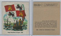 1976 Quality Bakers, Flags of America, History, Royal Standard of Spain 1492