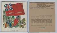 1976 Quality Bakers, Flags of America, History, Taunton 1774