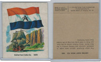 1976 Quality Bakers, Flags of America, History, United East India Co. 1609