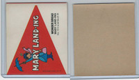 1976 Wonder Bread, Crazy College Pennants, Disney, #13 Maryland
