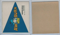 1976 Wonder Bread, Crazy College Pennants, Disney, #14 Auburn