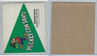 1976 Wonder Bread, Crazy College Pennants, Disney, #25 Michigan State