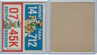 1976 Wonder Bread, Crazy License Plates, Disney, Montana, South Dakota