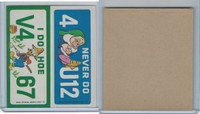 1976 Wonder Bread, Crazy License Plates, Disney, Nevada, Idaho