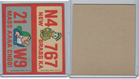 1976 Wonder Bread, Crazy License Plates, Disney, Nebraska, Massachusetts