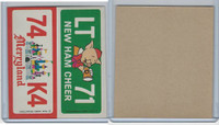 1976 Wonder Bread, Crazy License Plates, Disney, New Hampshire, Maryland
